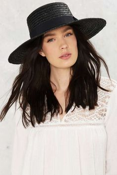 Stay Afloat Straw Boater Hat - What's New