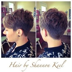 Short hair, good idea to start | <br/>    Edgy