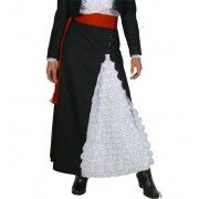 Faldón Negro Broderie Skirts, Clothes, Fashion, Chilean Flag, Gray, Black, Best Suits, Ethnic Dress, Embroidery