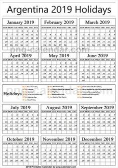 Hasil gambar untuk kalender 2019  a in 2019  Pinterest