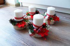 Vánoční svícen. Netradiční adventní věnec.