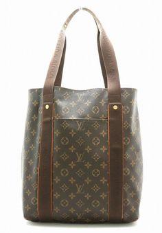 Louis Vuitton Cabas Beaubourg Tote Hand Shoulder Bag M53013 Monogram Used   fashion  clothing   04211d92ec9