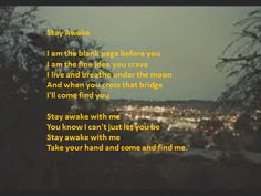 Stay Awake - London Grammar