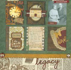 Legacy - Scrapbook.com