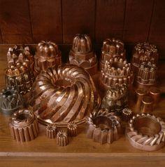 Copper Moulds. Penrhyn Castle, Bangor, Gwynedd, Walse.