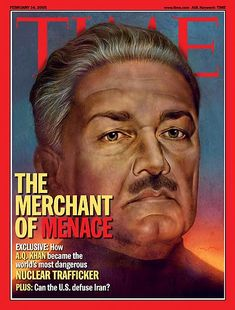 TIME Magazine Cover: Merchant of Menace -- Feb. 14, 2005