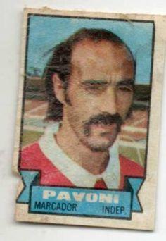 1972 Ricardo Pavoni - Independiente de Avellaneda