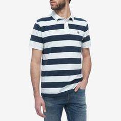 Timberland Kennebec River - Men's Stripe Polo Polo Shirts, Timberland, River, Cool Stuff, Mens Tops, T Shirt, Supreme T Shirt, Tee Shirt, Polo