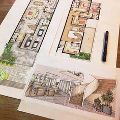 """1,470 curtidas, 48 comentários - Daniel Dillenburg (@dillenburg1983) no Instagram: """"A boa e velha mão livre!!! #drawing #architecture #mastersketch #arch #arch_cad #desenho #dibujo…"""""""