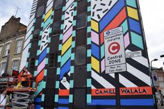 Camille Walala | Great Eastern Street