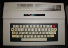 This Tandy Color Computer 2 is refurbished and in good condition. It has been fully tested and is working perfectly. It comes with video cable and power supply.