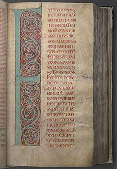 The Codex Gigas contains five long texts as well as a complete Bible. The manuscript begins with the Old Testament, and it is followed by two historical works by Flavius Josephus-National Library of Sweden