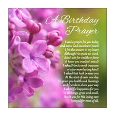 Christian Happy Birthday Wishes, Happy Birthday Verses, Birthday Poems, Happy Birthday Messages, Birthday Prayer For Husband, Happy Birthday Mom From Daughter, Birthday Wishes For Mother, Say A Prayer, Prayer For You
