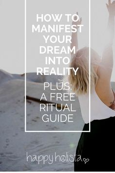 Do you want to create your dream life? I am sharing with you the manifesting ritual that turned my life around! Positive Attitude, Positive Vibes, New Age Books, How To Manifest, Subconscious Mind, Peace Of Mind, Self Development, Dream Life, Law Of Attraction
