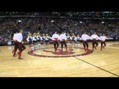 Serbian Folklore Ensemble KOLO at NBA Raptors game  - fantastic #dance