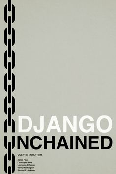 Django Unchained ~ Minimal Movie Poster by Jacob Wise Django Unchained, Minimal Movie Posters, Alternative Movie Posters, Minimalist Poster, Quentin Tarantino, Leonardo Dicaprio, Geeks, Pop Culture, Guy