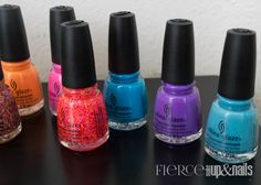 China Glaze Electric Nights Summer Collection 2015 — Fierce Makeup and Nails