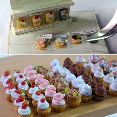 2017, Miniature Cupcake ♡ ♡ By chobiko