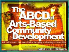 The ABCD of Arts-based community development Importance Of Art, Art Curriculum, Collaborative Art, Art Lessons Elementary, Art Classroom, Teaching Art, Community Art, Art Therapy, Art School