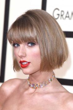 Taylor Swift's new bob. #love