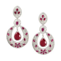Life's Flow Red Drop Earrings  Product Code : ADERL1400020    Type : Red Hydro, Swarovski  Color : Red  #SilverEarringsOnlineShopping  #SilverEarringsOnlineIndia  #SilverEarringsIndia    #SilverEarringsOnline  #BuySilverEarringsOnline  #SilverEarringsForWomen  #SilverEarring #DesignerSilverEarrings  #BuySilverEarrings  #SilverEarrings  #Earrings