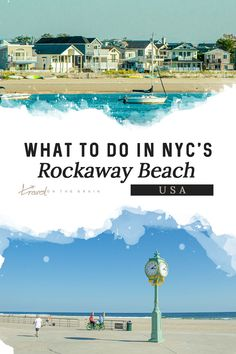Rockaway Beach in NYC is a great summer getaway. Here's what to expect. #nyc #newyorknewyork #rockaway