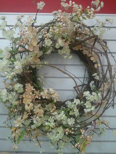 Talented Michaels Designers  vintage wreath