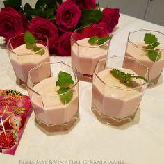 Edels Mat & Vin: Enkel fromasj med jordbær og Popping Candy ♥