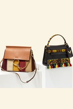 Gypset style takes flight with the vintage-inflected look of #Chloe and #Valentino. Get your laid-back luxe look at Saks.com. #SaksStyle