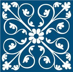 Resultado de imagem para stencil azulejo portugues