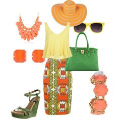 """""""sunny day"""" by agnesvanliere on Polyvore"""