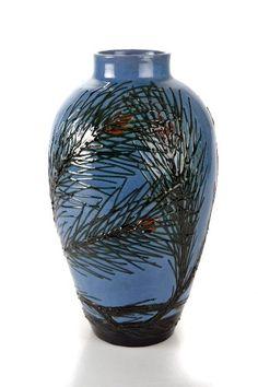 Max Laeuger - Vase, um 1908