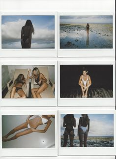 summer life in polaroids