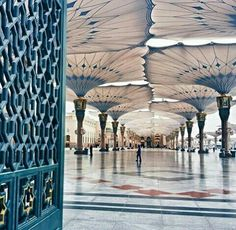 mosque of  Prophet Muhammad ( peace be upon him )
