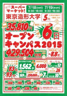 Supermarket: Tokyo Zokei University Open Campus - Ishida Kazuyuki