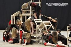Mechanicsburg HS, PA - Gold Medalist, Scholastic Open Class (2013 WGI World Championships, Dayton, OH). More WGI images at Marching.com/photos