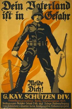 21 World War I Recruitment Posters From Around the Globe