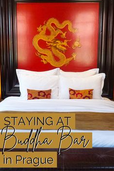 The Buddha-Bar hotel was the perfect place to stay for my first visit to Prague! This post is all about my experience staying at this chic, asian-themed hotel. Asian Inspired Decor, Cafe Pictures, Prague Hotels, Visit Prague, Cute Cafe, Prague Travel, Old Town Square, Cities In Europe, Hotel Stay