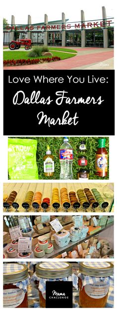 Looking to get a taste of REAL Texas? Then ask a Texan. I'm sharing some of my favorite tastes from one of my favorite Dallas spots: the Dallas Farmers Market and several of these must-have Texas tastes from Texas purveyors. Thanks to Ozarka® Brand Natural Spring Water for partnering with mamachallenge.com for this fun sponsored post.