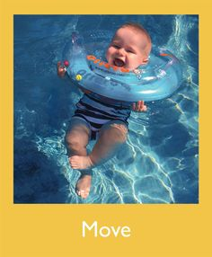 Pediatrician-approved Otteroo neck float makes your baby's transition from bath to pool easy and fun!