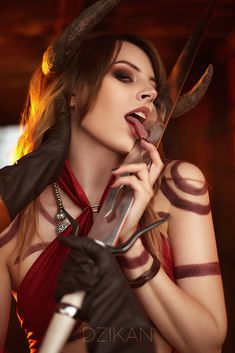 Explore the Devious Collection IV collection - the favourite images chosen by on DeviantArt. The Witcher Game, Witcher Art, Fantasy Characters, Female Characters, Dark Fantasy, Fantasy Art, Succubus Cosplay, Lady Loki, Female Knight