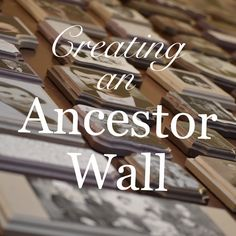 Creating an Ancestor Wall – Finlay Family Genealogy We Are Family, Big Family, African American Genealogy, Family Tree Chart, Display Family Photos, Family Roots, Hanging Photos, Family Genealogy, Memorial Gifts