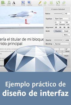 Ejemplo práctico de diseño de interfaz con Sketch