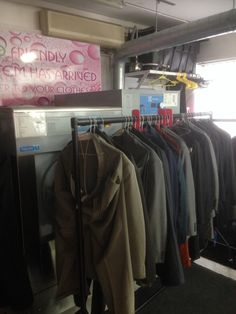Solvent free garment care at K's Kleaners. www.unitsteam.co.uk
