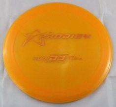 400s D3 Driver 173g Prodigy Discs Orange Disc Golf Disc