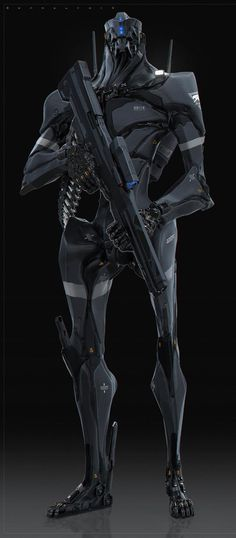 Concept robot by Ben Mauro