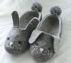 ウサギとワンコの羊毛フェルトルームシューズ  ウーマンエキサイト みんなの投稿