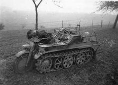 Perhaps one of the most curious vehicles of the movie, the KettenKrad was a mixture of a motorcycle and a tank. This vehicle was very well s...