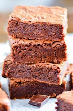 These rich and fudgy brownies are utter perfection. No wonder they're Oprah's favorite!