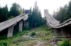 Amazing Abandoned Places and Winter Olympics Site, Bosnia and Herzegovina